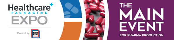 Healthcare PACKAGING EXPO   The Main Event for Pharma Production